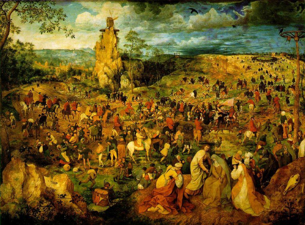 十字架を担うキリスト