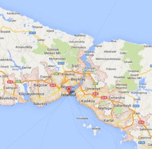 イスタンブール地図